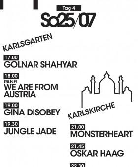 Timetable Sonntag